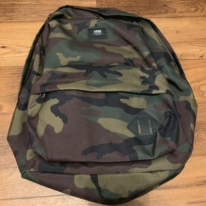 NWT Vans Camouflage Backpack